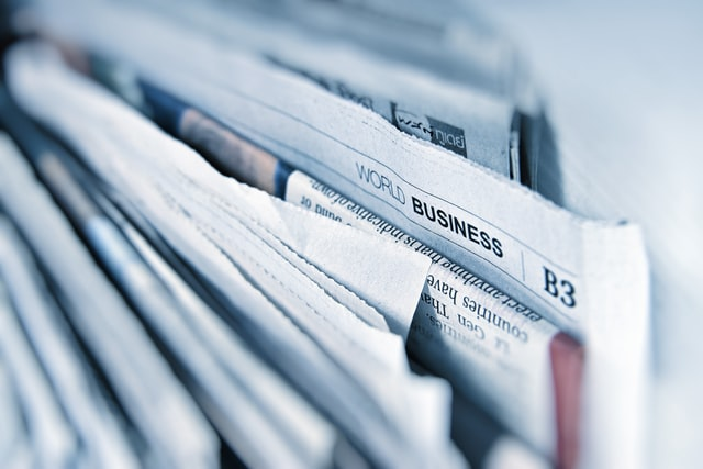 newspapers background image
